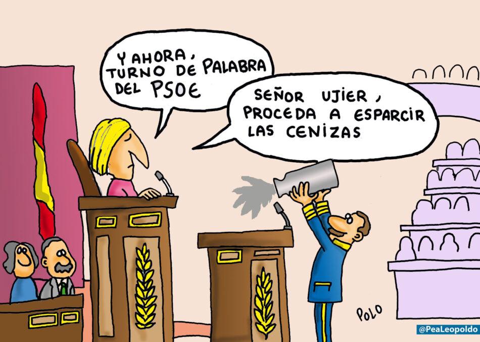 Las cenizas del PSOE