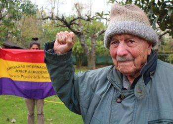 El último superviviente de las Brigadas Internacionales: Josep Almudéver