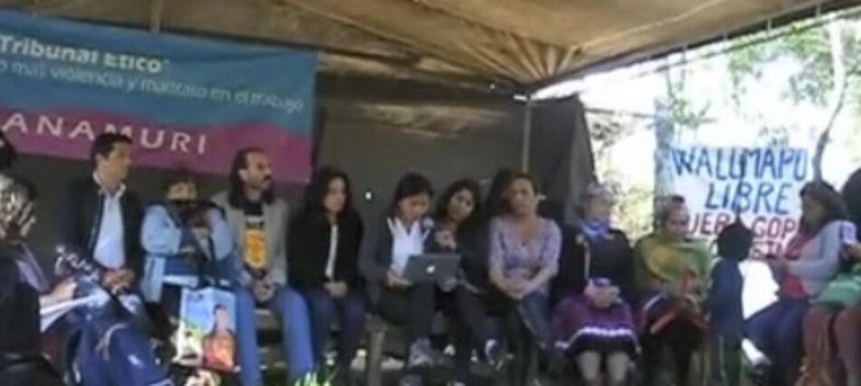Nación Mapuche. Tribunal Ético sancionó en Cañete: Declaración frente a terrorismo de estado y violencia del capital en territorio Mapuche