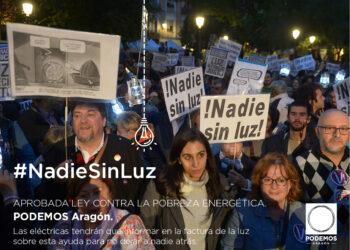 Las Cortes de Aragón aprueban este jueves la Ley de medidas contra la pobreza energética