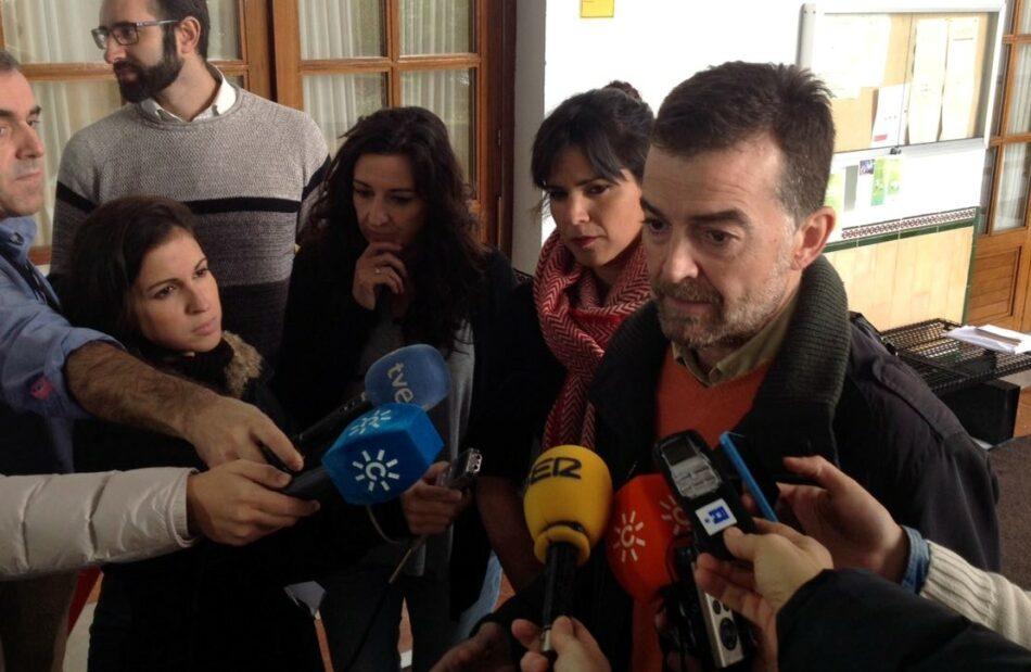 IU y Podemos registran la proposición de ley para una 'cláusula suelo' que blinde la educación pública andaluza