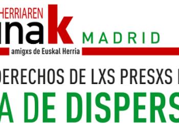 «Continuamos la campaña: Por los derechos de lxs presxs políticxs. ¡Basta de dispersión!»