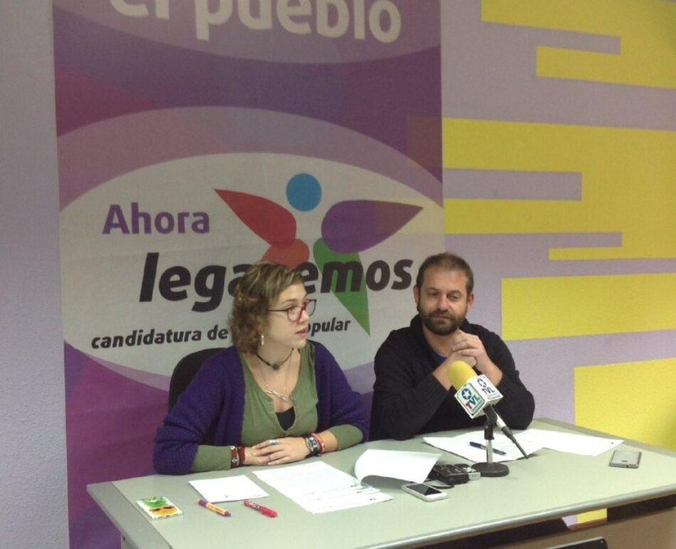 Leganemos presenta enmienda a la totalidad al proyecto de ordenanzas del PSOE