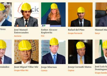 10 constructoras están presentes en 7 de cada 10 euros adjudicados en el BOE desde 2009 en contratos de obra pública