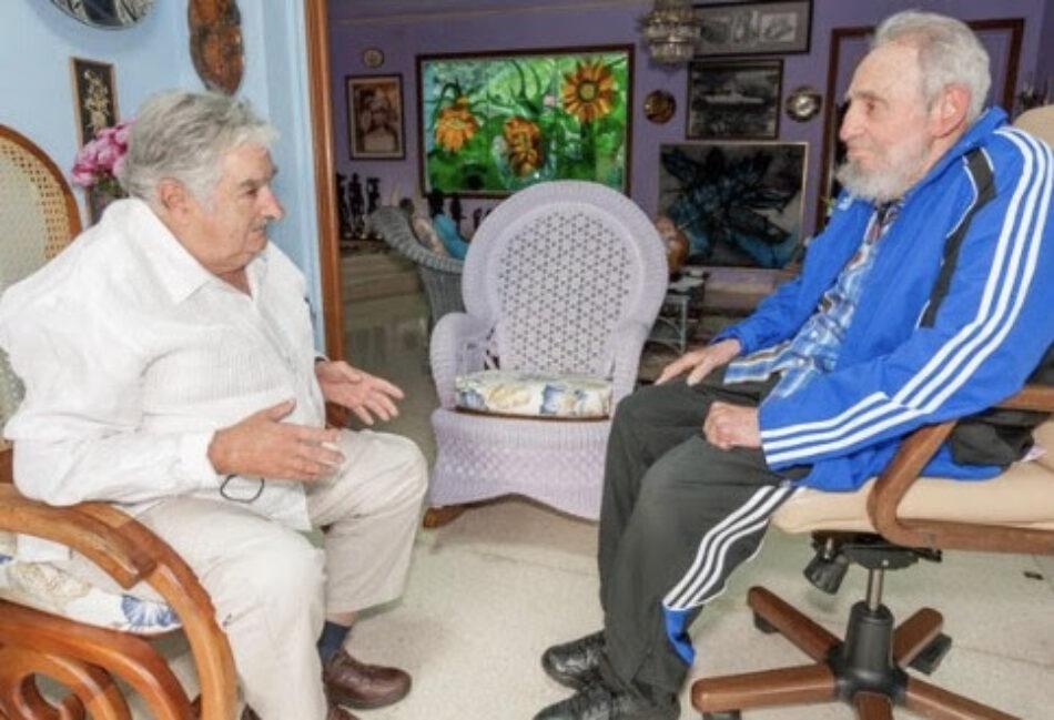 Carta de Pepe Mujica a Fidel Castro