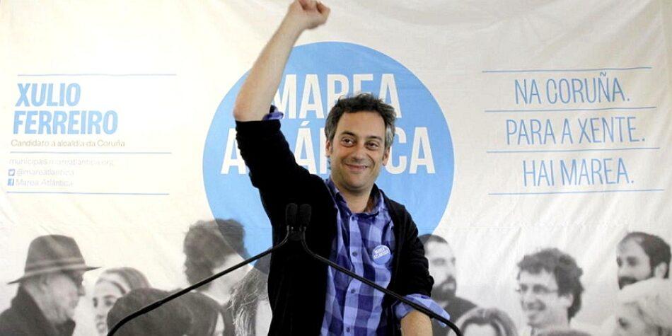 La asociación Ve-la luz tacha de «irresponsables» y «surrealistas» las medidas del alcalde coruñes Xulio Ferreiro en la lucha contra la violencia de género