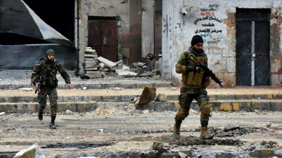 Siria captura a 14 uniformados de coalición anti-EIIL en Alepo