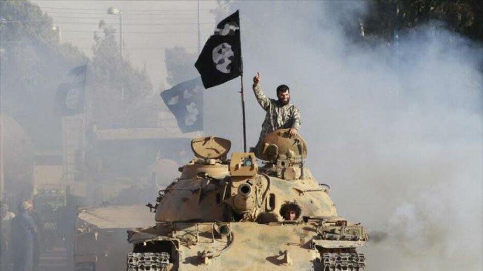 Daesh empieza a transferir sus armas pesadas de Irak a Siria