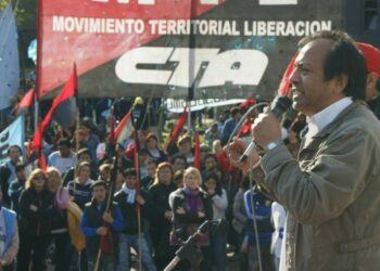 Argentina. Hasta la victoria siempre La CTA Autónoma despide a Carlos Chile