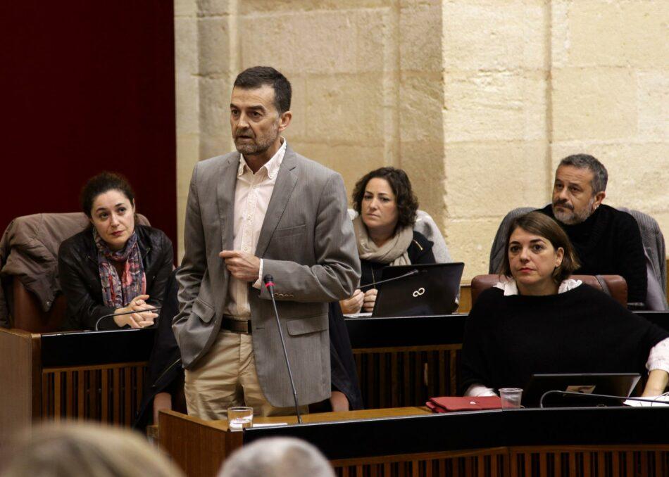 Maíllo (IU): «Ha agotado la política del parcheo en la sanidad pública andaluza provocando un repunte formidable de la movilización del pueblo»