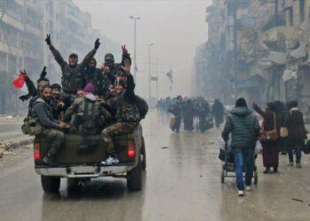 [Videos] TVE prohibe emitir videos en los que el pueblo sirio celebra la liberación de Alepo