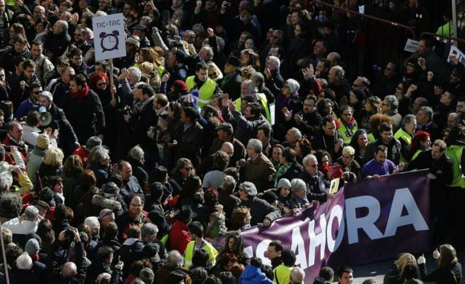 «Por una marea del cambio, por un Podemos en movimiento»