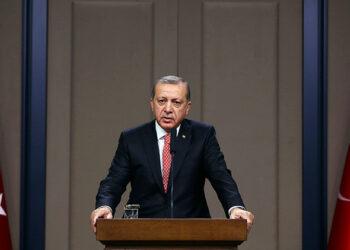 Erdogan declara que el Ejército turco entró en Siria para derrocar a Assad