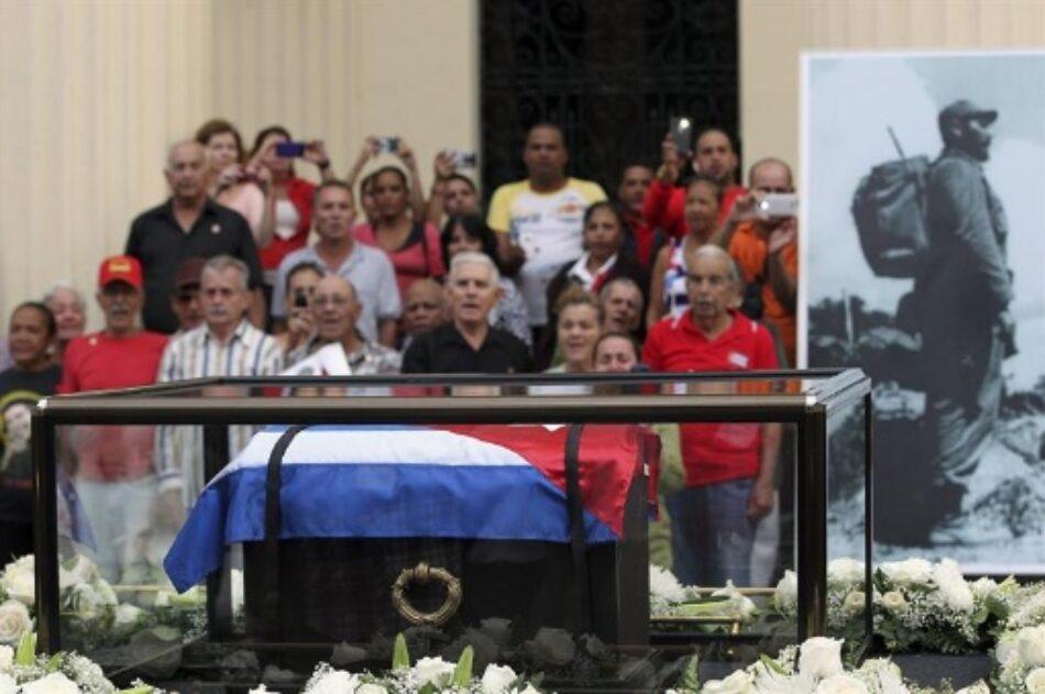 Este domingo serán inhumadas las cenizas del líder de la Revolución Cubana, Fidel Castro