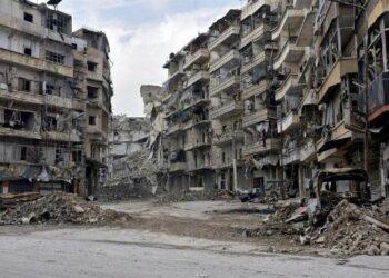 Rusia halla fosas comunes en Alepo