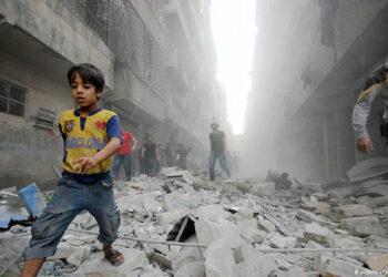 """Aleppo: """"Todos los muertos de Putin"""""""