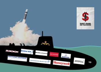 BBVA y Banco Santander invierten más de 4.000 millones de euros en armas nucleares