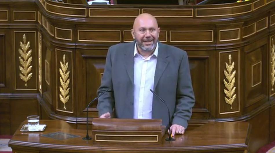 """Sixto denuncia que la última reforma del CGPJ impuesta por el PP ha provocado """"su fracaso más palmario para que vele por la independencia de los jueces"""""""