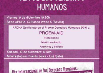 Movilización en Sevilla: «Por una vida digna: derechos para tod@s»