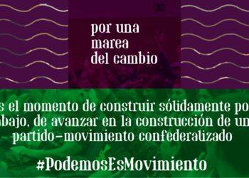 Presentación 'Por una marea del cambio, por un Podemos en movimiento'