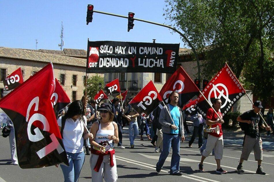 CGT vuelve a reiterar su desacuerdo con «las falsas movilizaciones de los sindicatos mayoritarios»