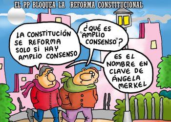 El PP bloquea la reforma de la Constitución