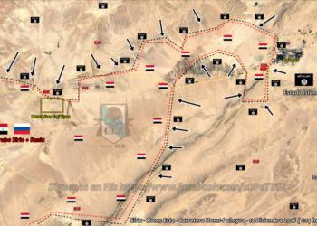 Siria – El ISIS toma Palmyra y avanza sin control tomando la carretera y acercándose a la Base Aérea T-4