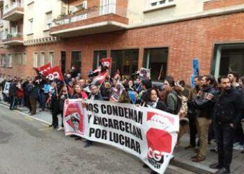 Lola Gutierrez será extraditada hoy desde Atenas hasta Barcelona, según la CGT