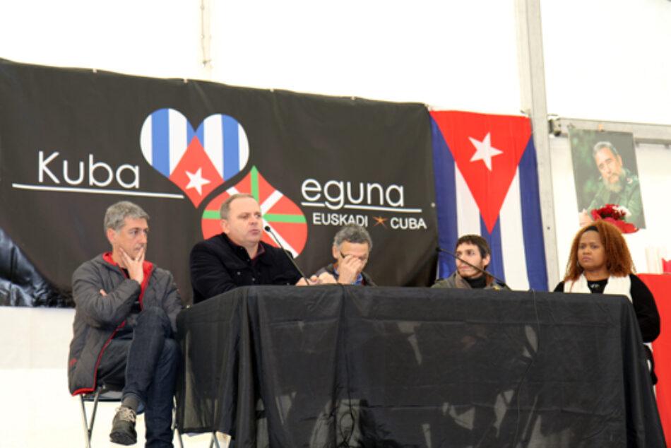 Primera edición del Kuba eguna reunió a miles de personas en Bilbao en tributo a Fidel