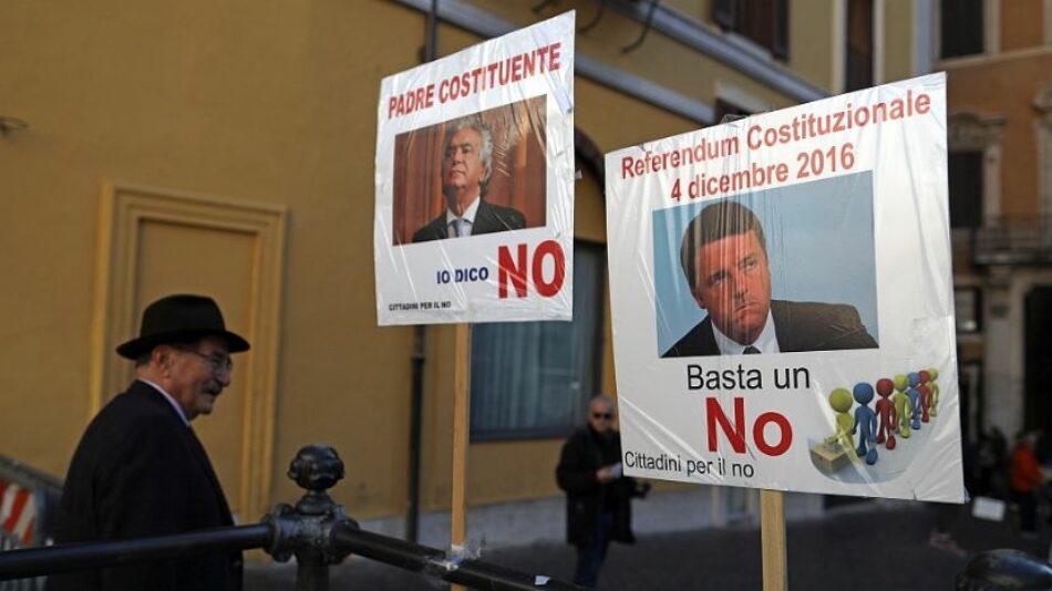 El Partido de la Izquierda Europea celebra la victoria del NO en el referéndum italiano