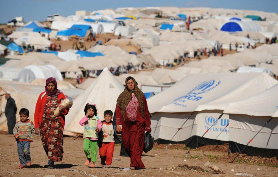 ACNUR insta a reconocer como refugiadas a las personas que huyen de la guerra
