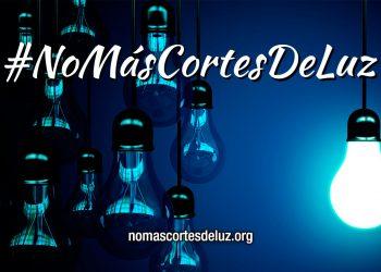 Organizaciones lanzan el manifiesto 'No más cortes de luz'