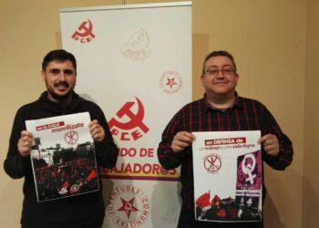 El Partido Comunista inicia una campaña contra la precariedad laboral en la Región de Murcia