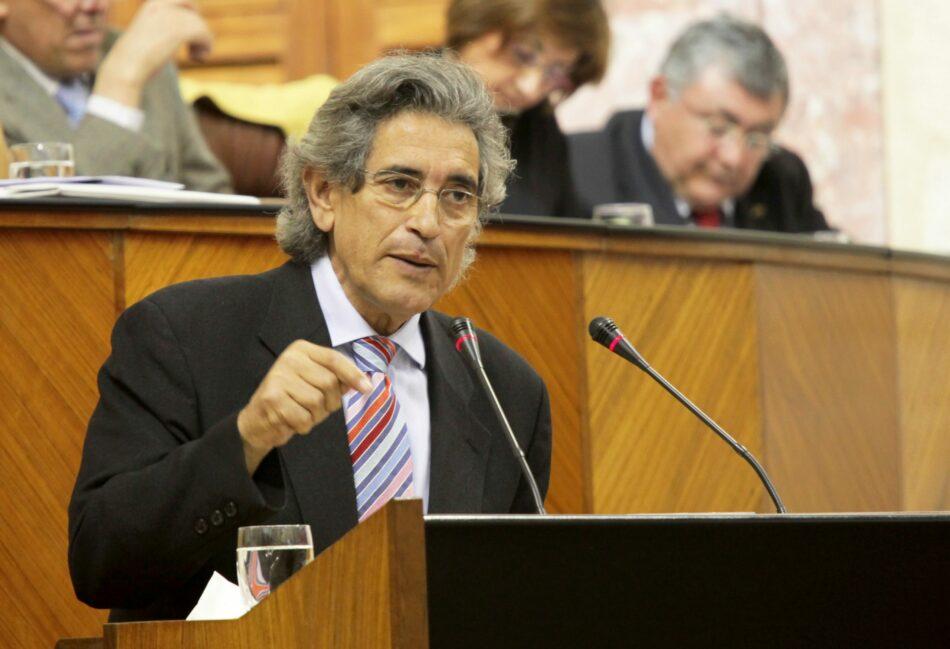 IU y PCA trasladan su más absoluto pesar por la muerte de Pedro Vaquero, exdiputado y exparlamentario andaluz