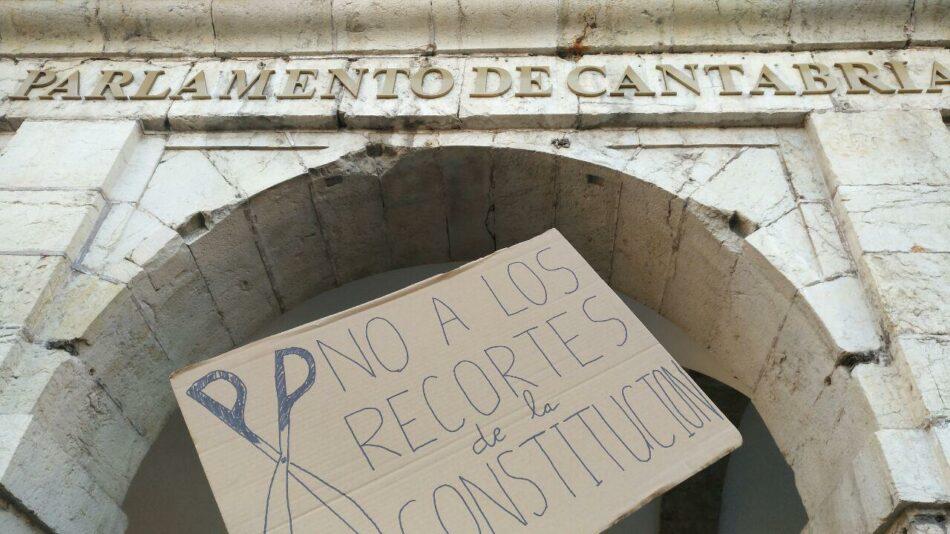 PAH Santander denuncia que el artículo 47 de la constitución no se cumple