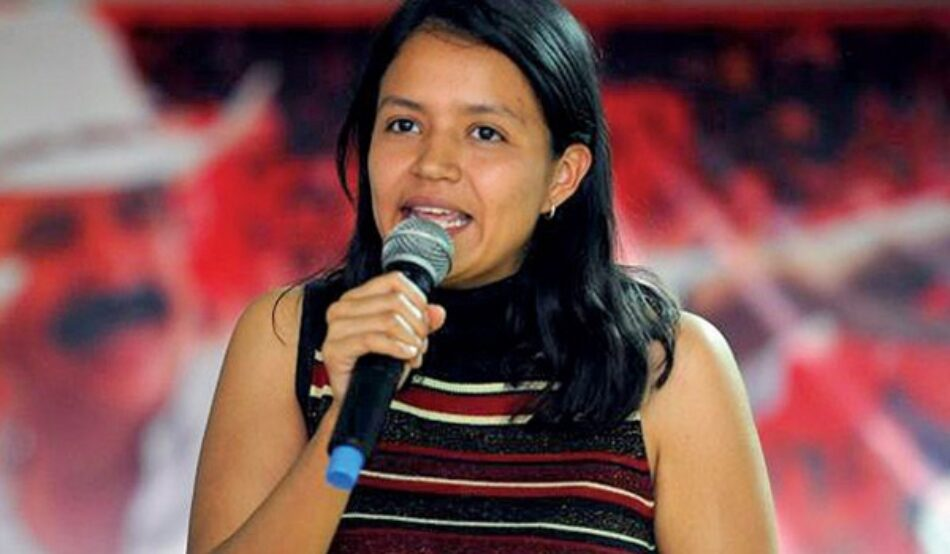 Honduras: Hija de Berta Cáceres anuncia su candidatura a diputada por el partido Libre