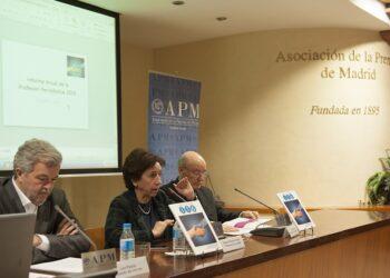 Según la encuesta de la APM, el 74,8% de los periodistas cede a la censura