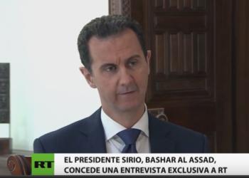 Bashar al-Assad: El ISIS retomó Palmyra con ayuda de EEUU para intentar Salvar Alepo