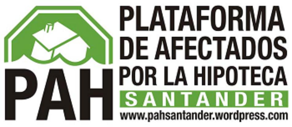 """PAH Santander exige la derogación de la """"ley mordaza"""""""