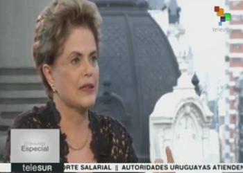 Dilma Rousseff: Una elección directa puede salvar a Brasil