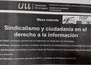 Investigadores y profesionales de la comunicación abogan por una regulación de pública del ejercicio del periodismo