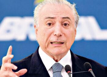 Un sondeo reveló que el 63% de los brasileños está a favor de renuncia de Temer