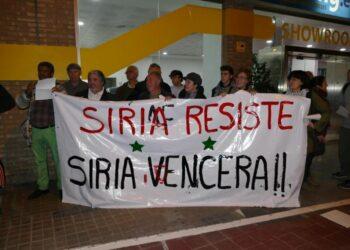 Valencia en solidaridad con Siria y Rusia