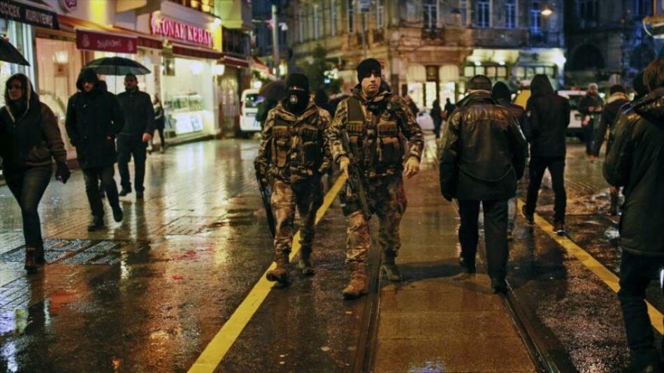 Daesh reivindica ataque en Estambul en la noche del Año Nuevo