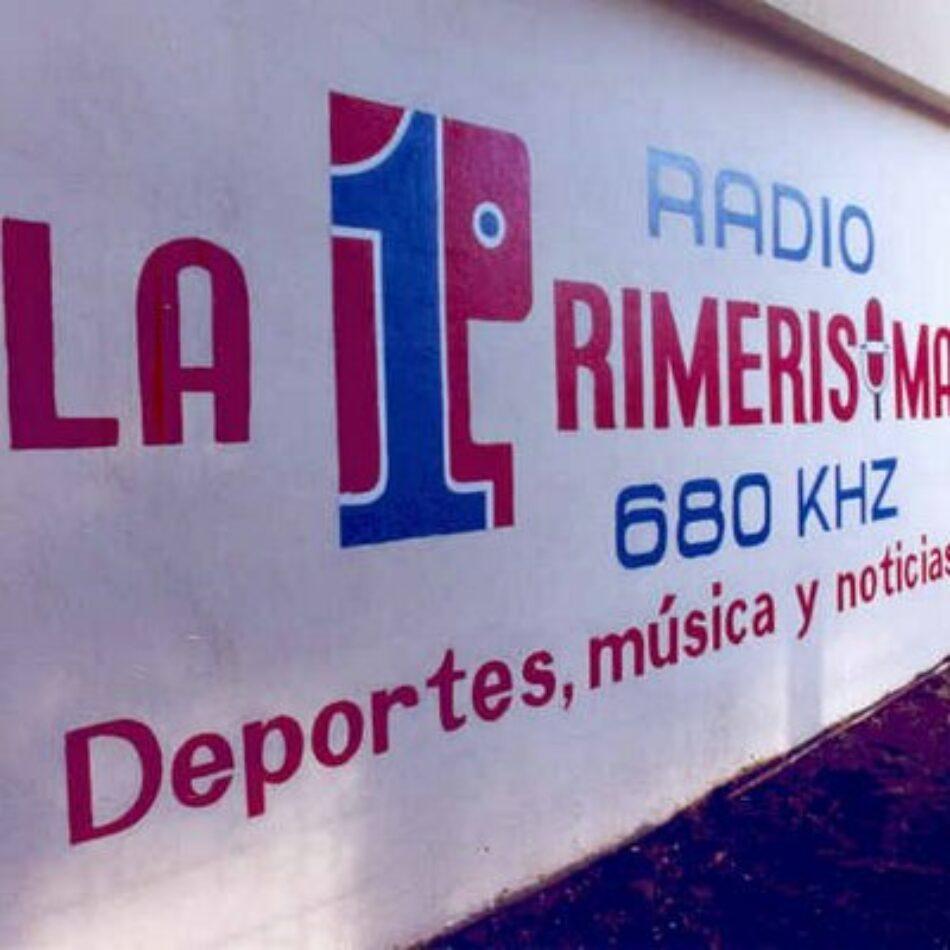 Confirmado: Ataque era contra Radio La Primerísima y venía del exterior