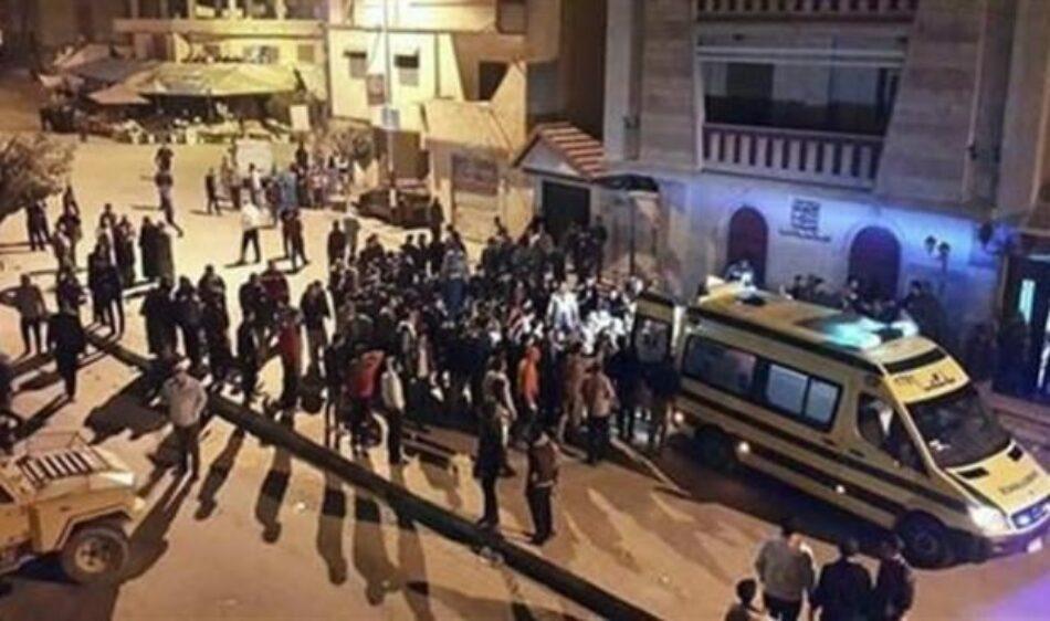 Nueve soldados egipcios muertos en coche bomba suicida de al-Arish
