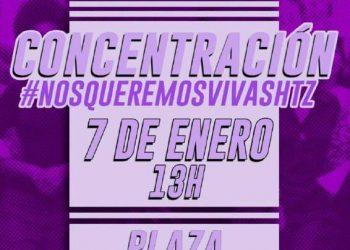7 de enero: concentración en Hortaleza (Madrid) en protesta por las tres mujeres asesinadas en menos de 72 horas
