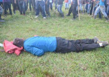 Guatemala: Un campesino asesinado por policías y paramilitares en una manifestación contra Hidroeléctrica