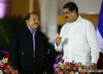 Nicaragua: Presidente Maduro resalta hermandad de la Revolución Sandinista y la Revolución Bolivariana