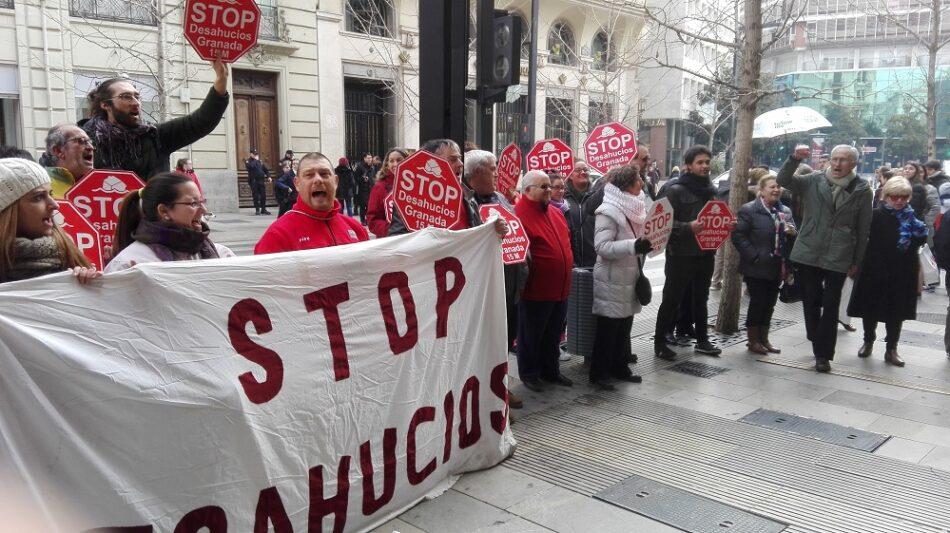 Stop Desahucios Granada reivindica alquileres sociales y daciones en pago retroactivas